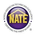 NATE badge icon