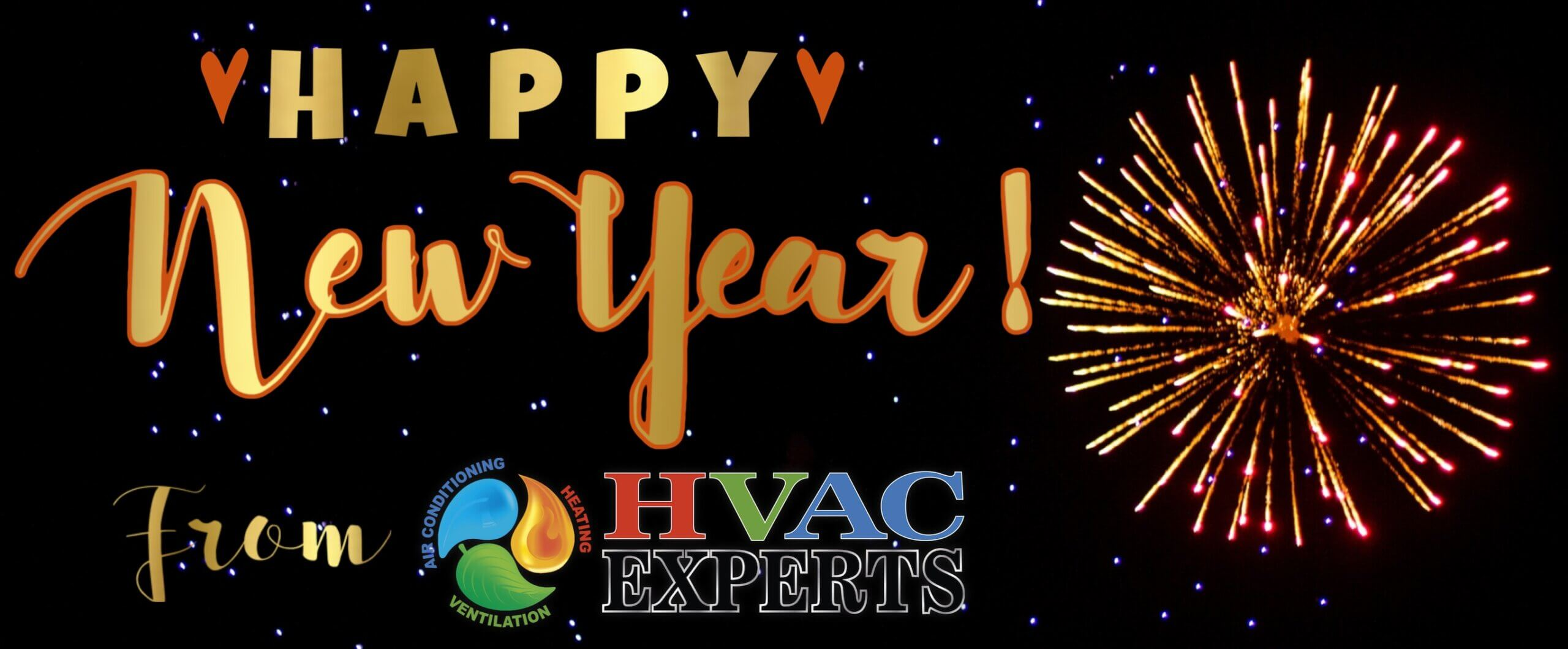Happy New Year from HVAC Experts
