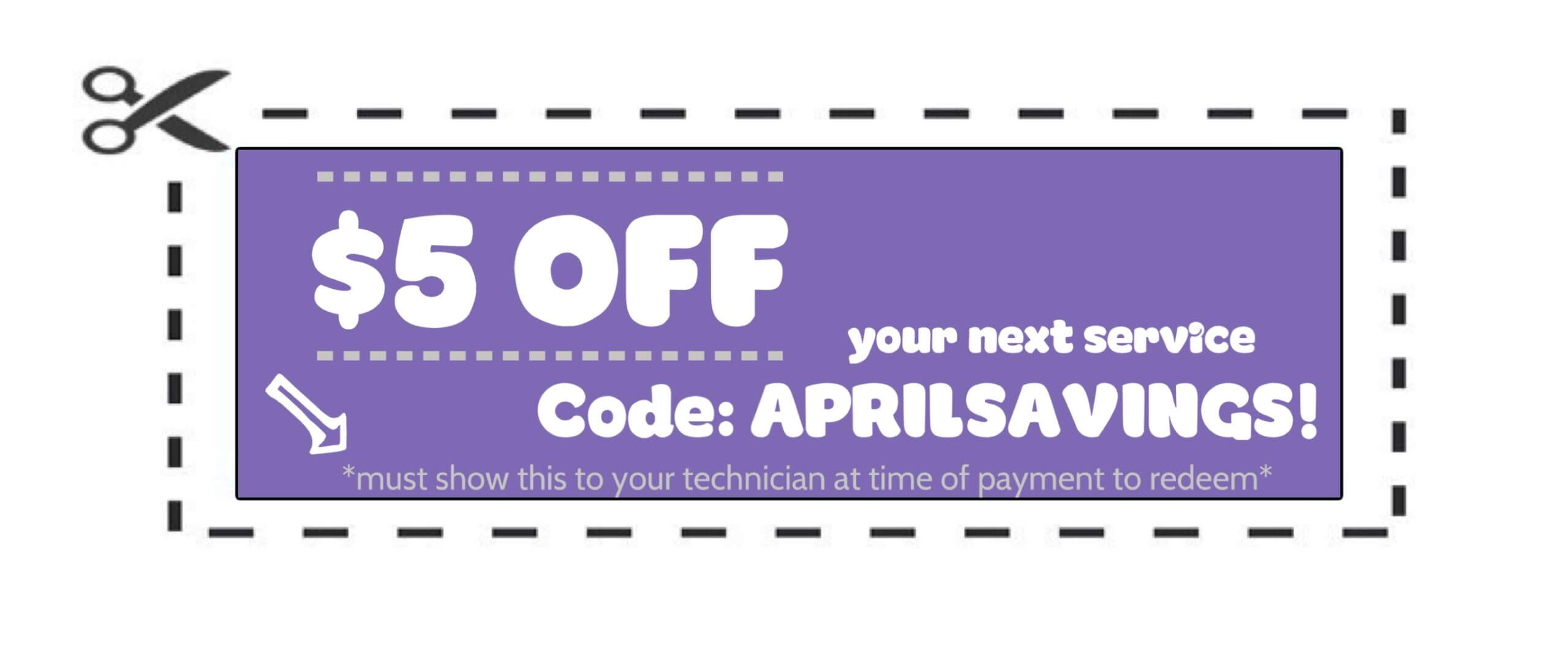 APRIL SAVINGS